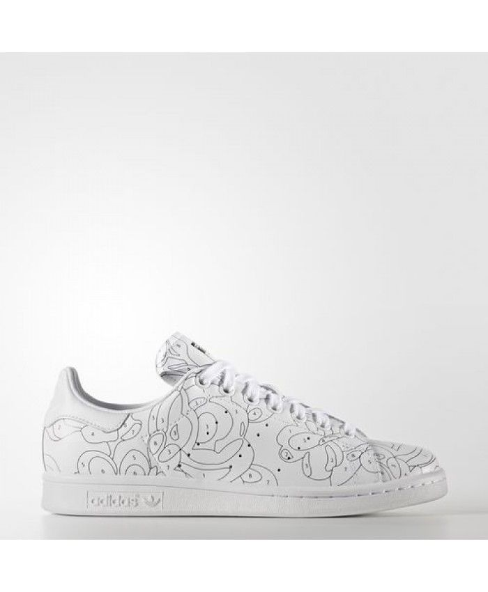 Womens Adidas Rita Ora Stan Smith White White Core Black S80292