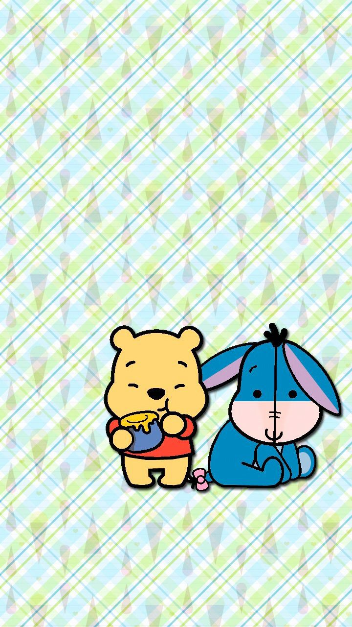 pooh eeyore wallpaper