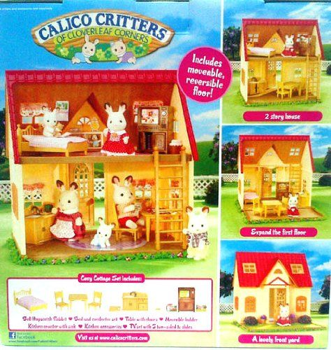 Calico Critters Cozy Cottage Starter Set Calico Critters