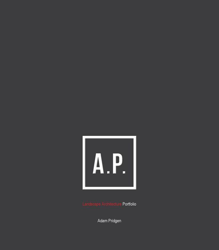#ClippedOnIssuu From Adam Pridgen Landscape Architecture Portfolio 2015