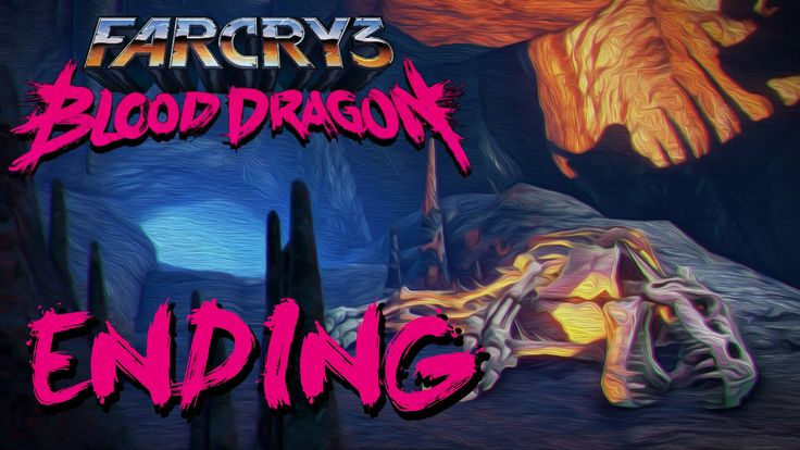 I'm Riding A Goddamn Blood Dragon!-Far Cry 3 : Blood Dragon[ENDING]