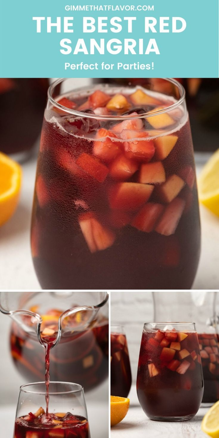 The Best Red Sangria In 2020 Red Sangria Sangria Yummy Drinks