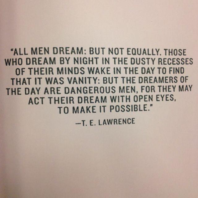 dream....