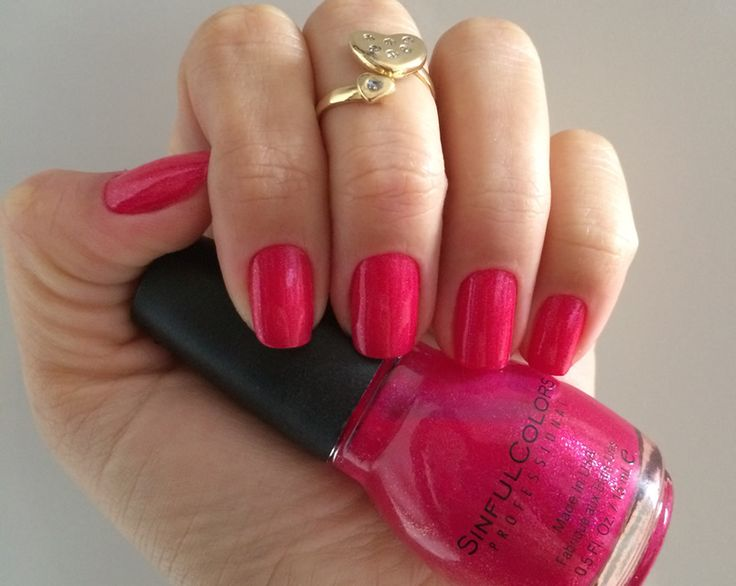 Esmalte da Semana: Pink brilhoso