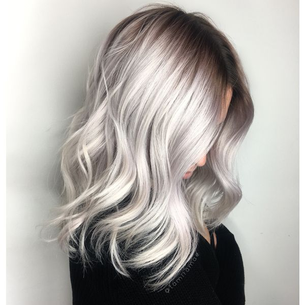 Your client is dying to go platinum, but she's currently rocking some serious new growth and an interesting blend of pink/purple/blonde. Challenge accepted! Parlour e.lev.en Salon stylist Tamira Mae Granneman (@tamiramae) was faced with this exact situation and she crushed this color correction! We've got the color formulas and steps below for this icy blonde shadow root combo, which got … Continued