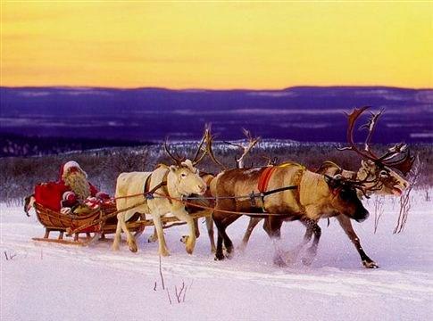 Η NORAD καταγράφει και φέτος το ταξίδι του Άγιου Βασίλη