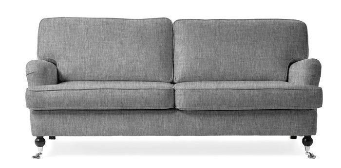 Produktbild - Hampton, 3-sits soffa bredd: 187cm 4995:- grey/ek
