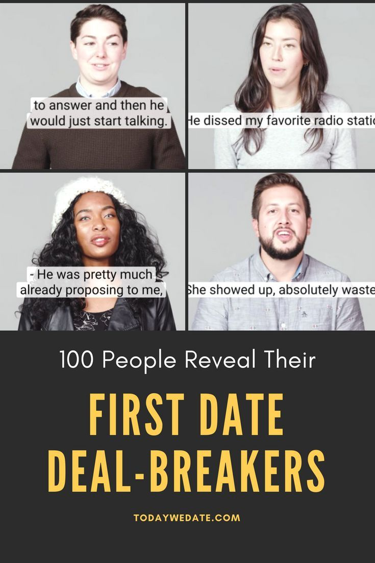 Worst dates ever stories