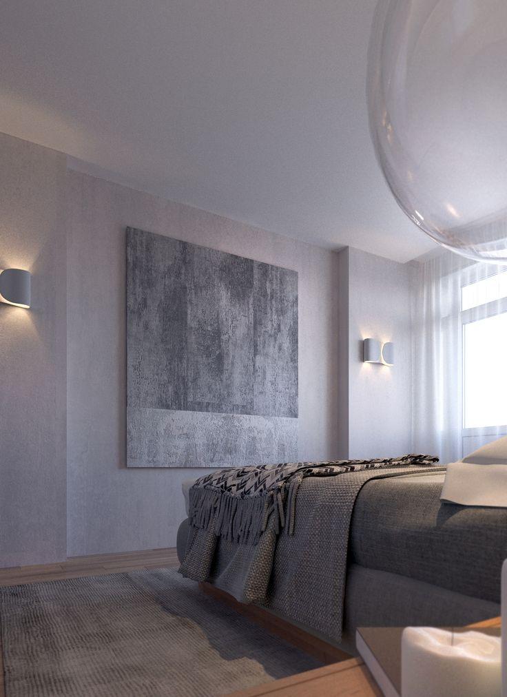 Дизайн интерьера квартиры #скандинавский #scandinavian #apartment #design #дизайн_квартиры #спальня