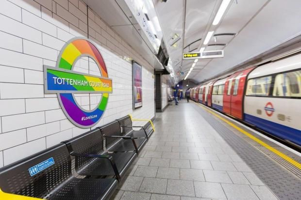 Pride 2017: London tube and bus stops decorated with rainbows for this year's LGBT fortnight - London's transport networkis planning to wrap its vehicles and decorate the Underground with rainbow patterns as part of its biggest ever campaign for LGBTPride. To raise awareness for the campaign that champions the rights of the LGBT+ community, Transport for London is applying the colourful designs to its bus stops and at major Tube stations.