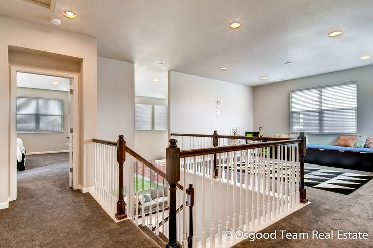 Love This Loft Space Open Floor Plan Upstairs Perfect For Game Room Rec Or Kids Study Space Meritage Apex Loft Spaces Kids Study Spaces Planning A Move