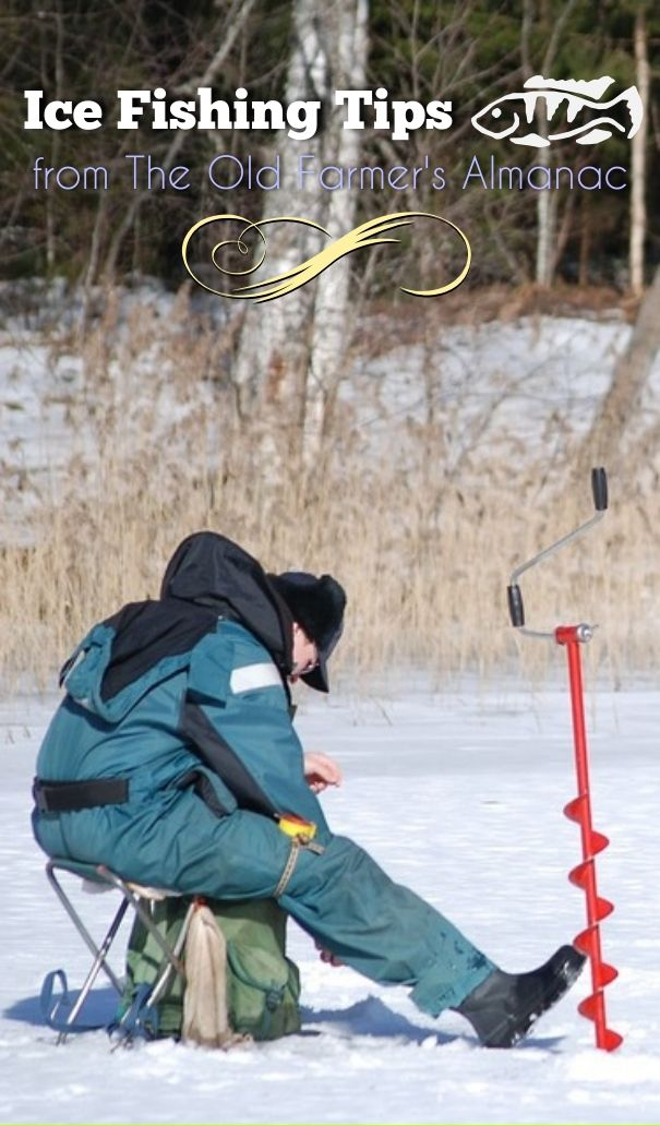 Ice-fishing, while enjoyable, can also be dangerous. Here are some ice-fishing safety tips for those lucky enough to fish all year-round!