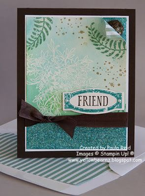 Yellowbear Stampin: Creative Inkers Winter Extravaganza Projects