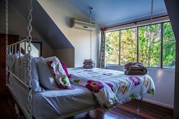 Les Meilleures Images Du Tableau Home Lits Suspendus Sur - Lit rond suspendu au plafond