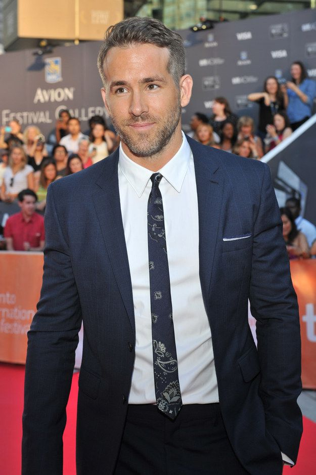 Notice anything different about Ryan Reynolds? | Proof God Is A Gay Man Or Straight Woman Because Ryan Reynolds Is Officially A Silver Daddy
