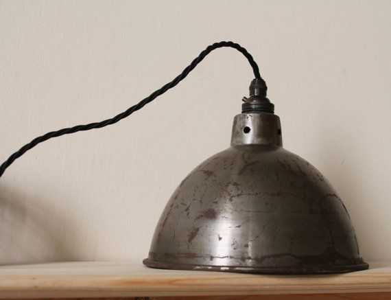 Vintage industrial lighting pendant light FREE POSTAGE & 31 best kitchen lights images on Pinterest | Kitchen lighting ... azcodes.com