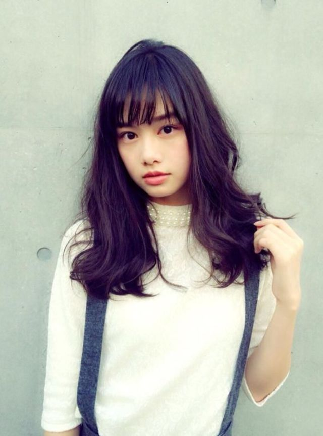 The Hairstyle To Try This Spring Asian See Through Bangs