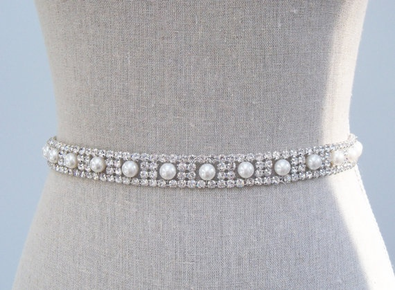 Beading belt for wedding dress