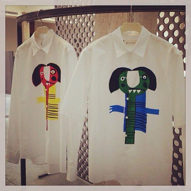 It's all about prints! #marni #mmfwss14 #prints #elle_italia
