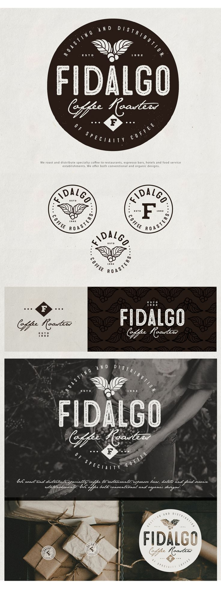 Fidalgo Coffee Roasters | 99designs                                                                                                                                                                                 More