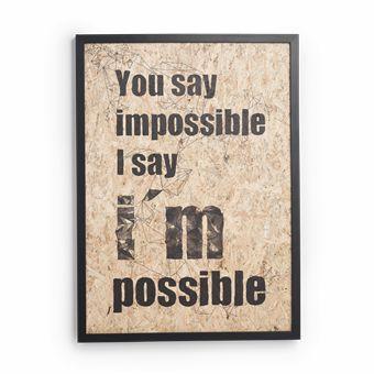 'I'm possible' Illustration af Ruth Crone Foster