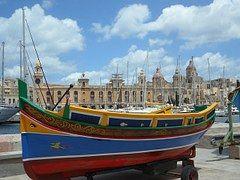 Luzzu, Barco De Pesca, Puerto Malta