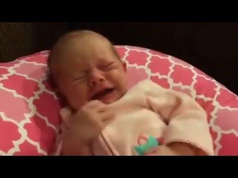 Crying Baby Soothed By Star Wars The Force Awakens Trailer - YouTube