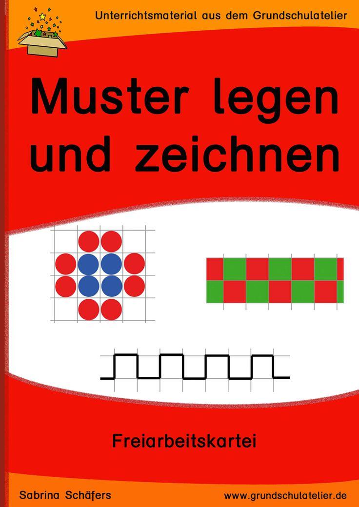 Muster Und Wendeplattchen Mathematikunterricht Muster Mathe Unterrichten