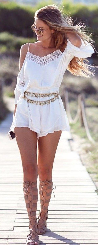 <3 Coachella Romper <3 Coachella Fashion Outfits ||| 40 Coachella Festival Fashion Outfits to Live the Boho Spirit