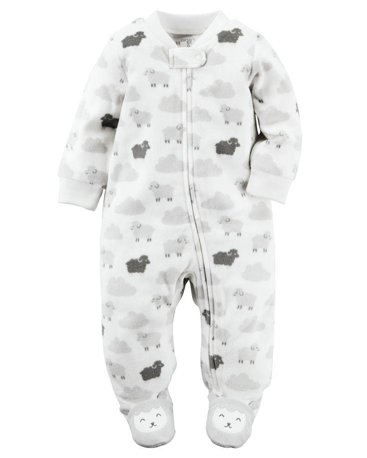 Fleece Zip Up Sleep Amp Play From Carters Com Shop Clothing