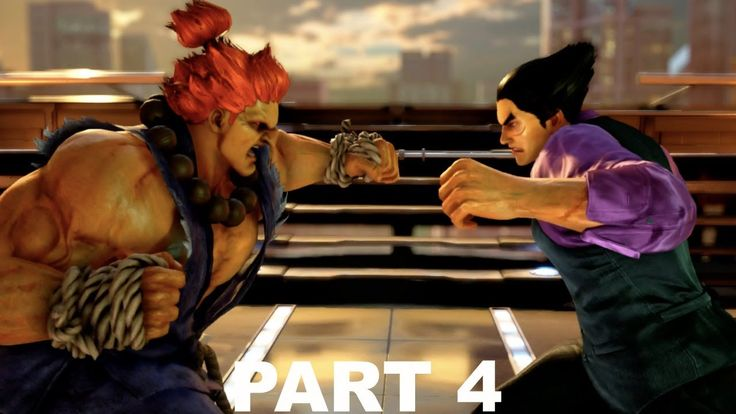 Tekken 7 Akuma VS Kazuya Devil Transformation Story Gameplay PS4 Part 4 ...