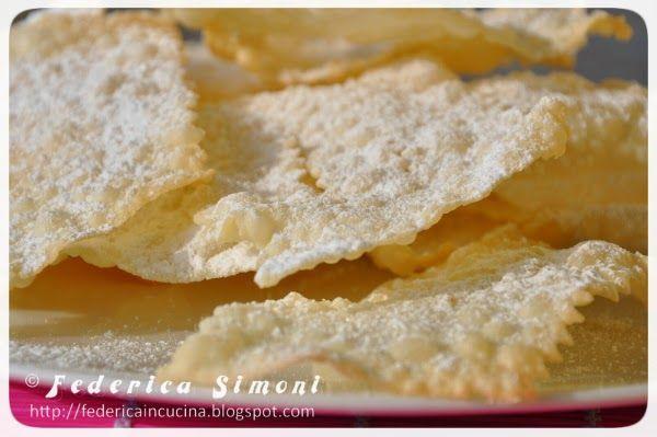 La cucina di Federica: Crostoli che fanno crunch