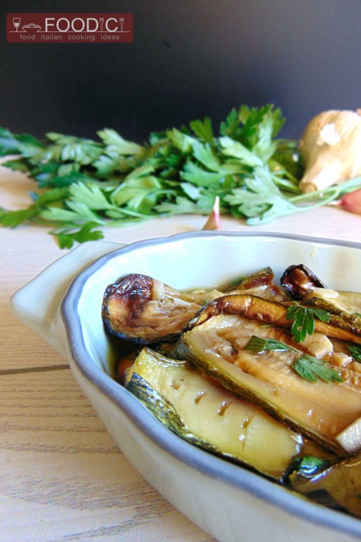 ZUCCHINE PREZZEMOLATE  #ricetta #ricettazucchine #contorno #verduresottolio…