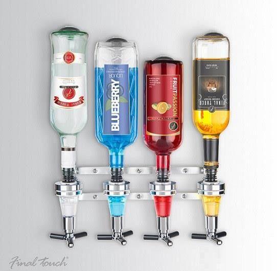 ścienny dyspenser alkoholi final touch
