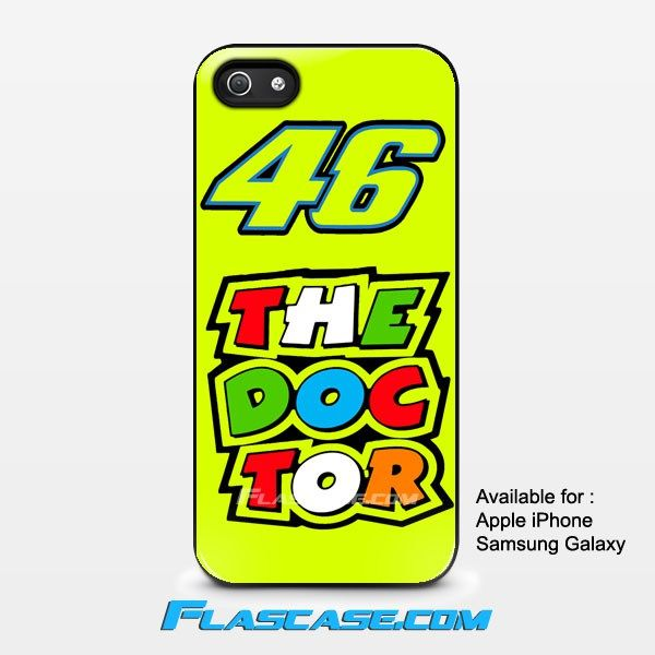 Valentino Rossi 46 The Doctor Apple iPhone 4/4s 5/5s 5c 6 6 Plus Samsung Galaxy S3 S4 S5 S6 S6 EDGE Hard Case