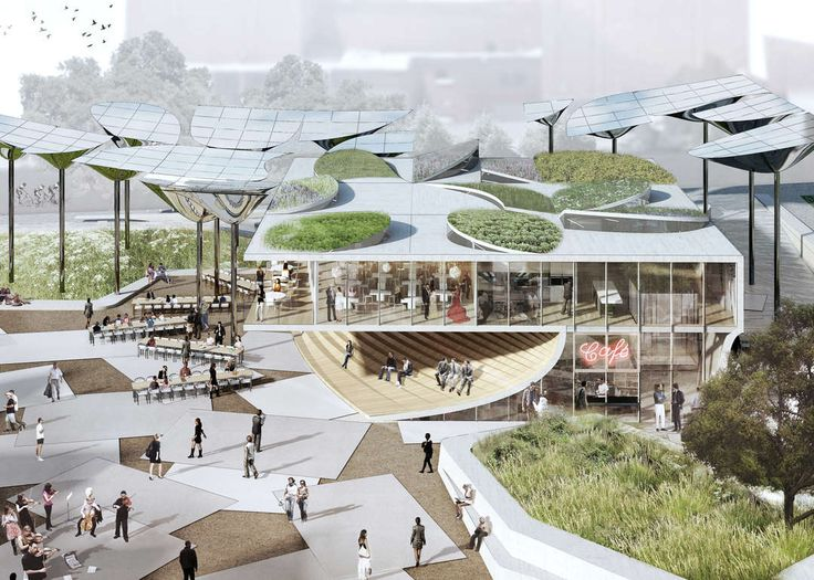 The competition to design the First & Broadway Civic Center Park in Downtown Los Angeles has come down to four finalists: OMA, AECOM, Brooks + Scarpa and...