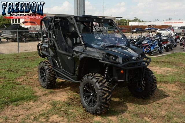 2013 Can-Am Commander X 1000 Side-By-Side , Black for sale in Lewisville, TX