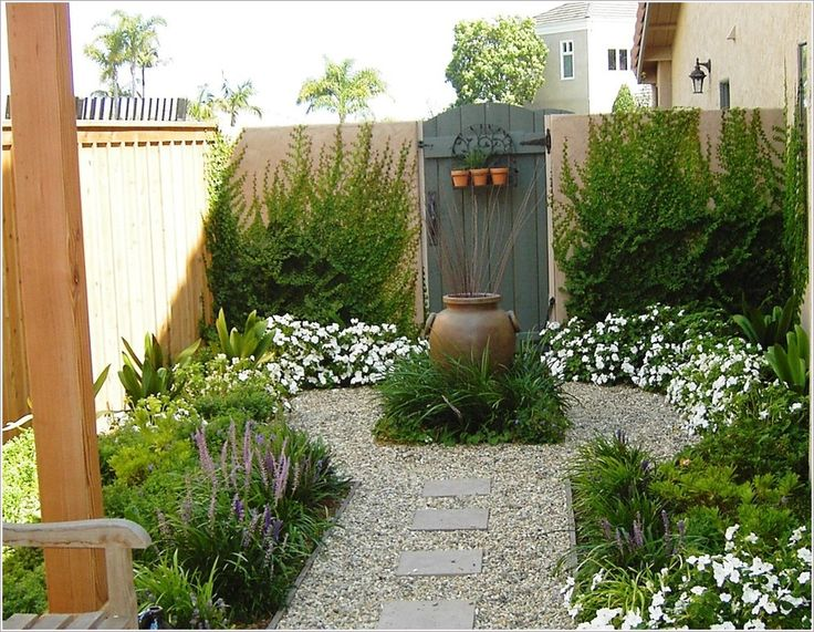comely garden landscaping ideas 2. Even you just have a small courtyards garden  still plenty great designs You can choose 31 best B G side yard ideas images on Pinterest Small gardens