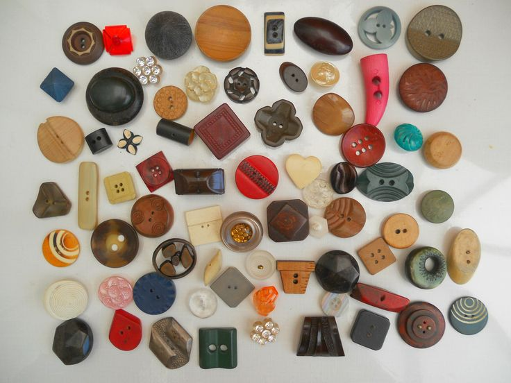 VINTAGE BUTTON LOT OF MIXED SHAPES ~ NOW ON MY EBAY SITE LUBBYDOT1
