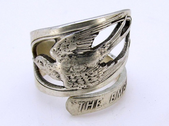 I will forever love spoon rings.