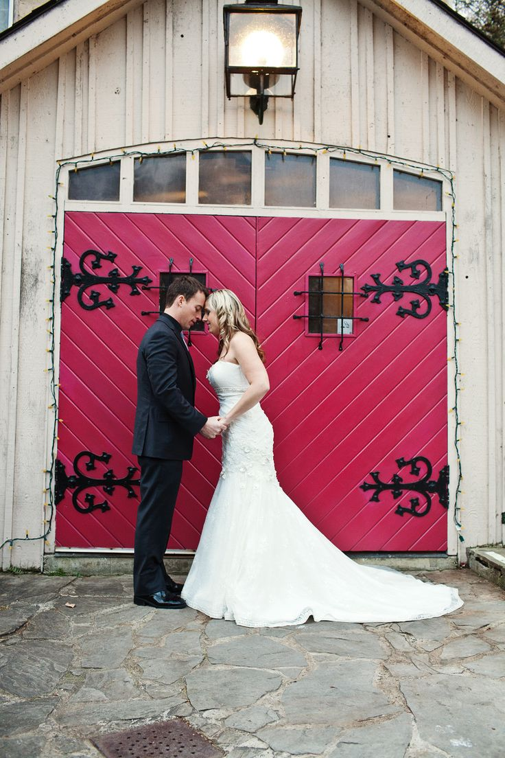 BenMiller Inn Wedding Red Door