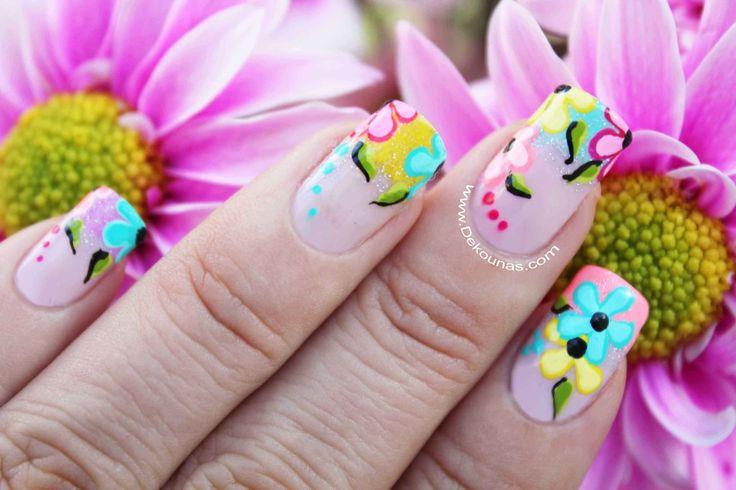 decoracion flores neon 1-1