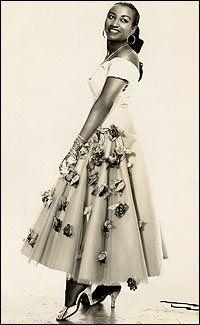 Celia Cruz, 1950s.
