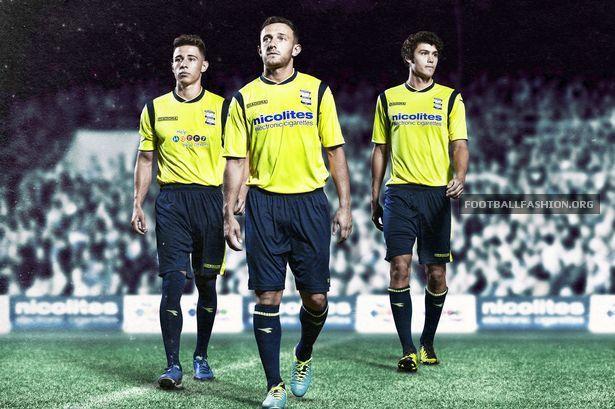 Birmingham City FC 2013/14 Diadora Away Kit