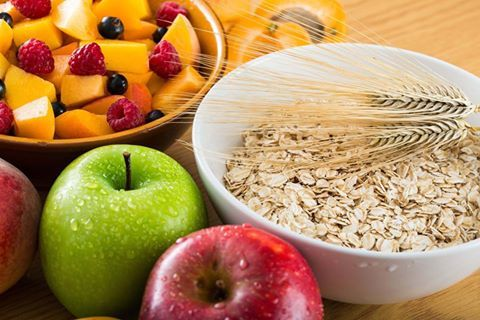 Eating fibre can help lower the risk of #heartdisease. Fibre can be found in various sources such as Oats, wholegrain cereals and fruit and Veg.