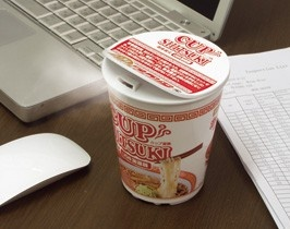 Cup Noodle Humidifier $73.78... way too expensive for a small humidifier, but fun to have.