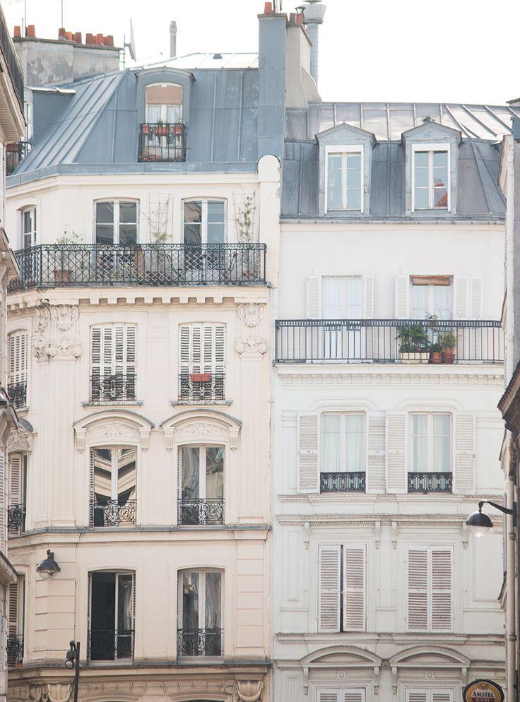 #paris #montmartre #rooftops #parisianrooftops #french #france #parisphotography #parisprints #frenchprints #rebeccaplotnick Paris Photography, Summer in Paris, Paris Montmartre Balcony. Apartment, Haussmann architecture, neutral hues, paris print - paris wall art by rebeccaplotnick on Etsy