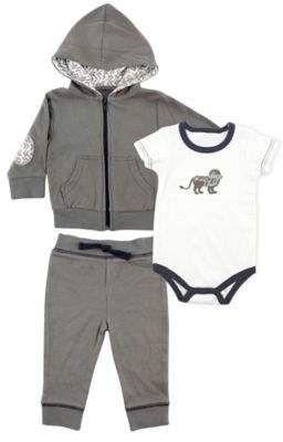 fbda230e8 Size 9-12M 3-Piece Lion Bodysuit