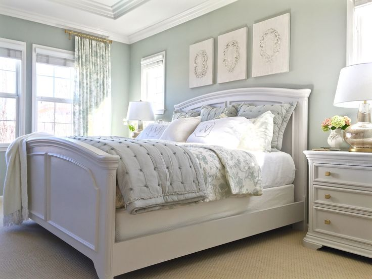 25 best ideas about silver sage paint on pinterest - Grey white and silver bedroom ideas ...