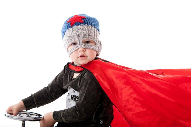 Superhero Red Star Beanie